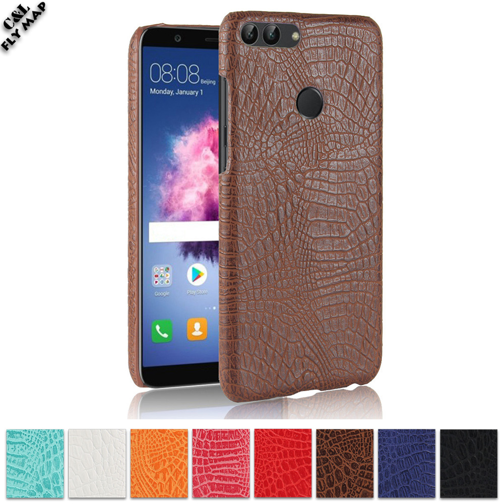 Crocodile Case For Huawei P Smart FIG-LX1 FIG-LX2 Hard PC Protective Phone Cover Shell Coque FIG L21 L22 LX1 LX2 Nova2 Lite ...
