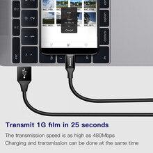 Baseus Micro USB Cable de datos de carga rápida carga Cable Microusb Cable cargador para Samsung Xiaomi Redmi Android Cable de teléfono móvil