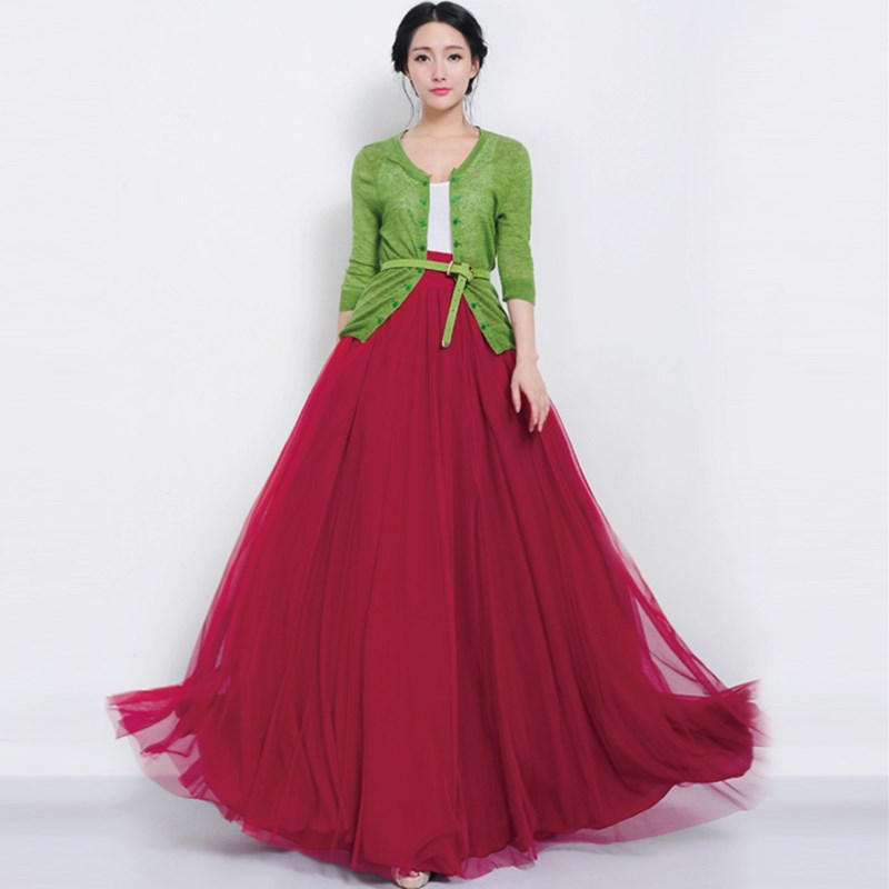 Online Get Cheap Tulle Maxi Skirt -Aliexpress.com | Alibaba Group