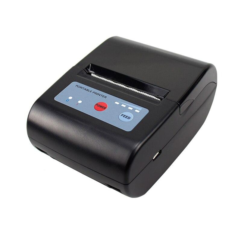 Mini Bluetooth Drucker Thermische Empfang Drucker 58mm 2000mAh Tasche tragbare drucker für Android/iOS handy Drucker POS