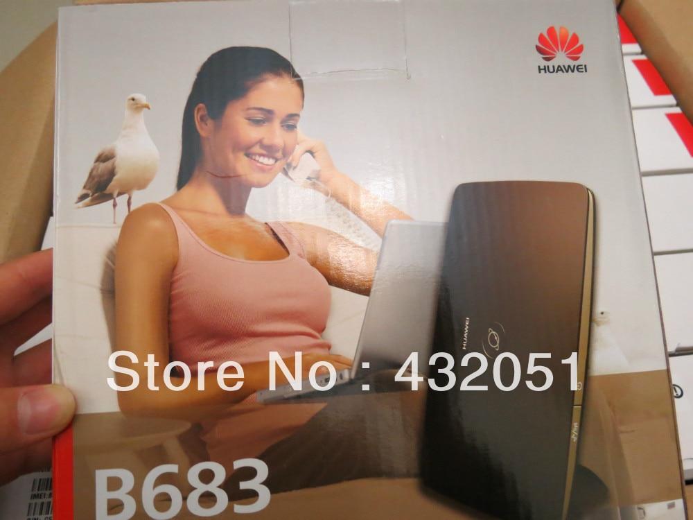 28M HUAWEI B683 Router support SIM and WAN LAN router 3g modem sim 4g huawei b681 hsdpa umts 28 mbps wifi lan wan rj11
