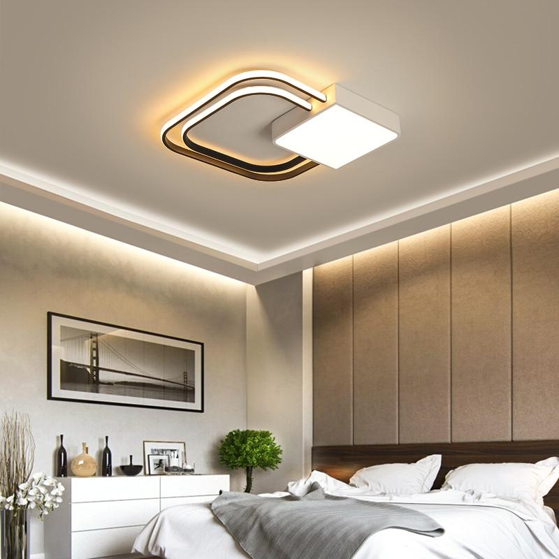 New Black/white Modern Led Ceiling Lights For Living Room