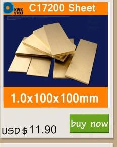 Berílio C17200 CuBe2 CB101 TOCT BPB2 Material