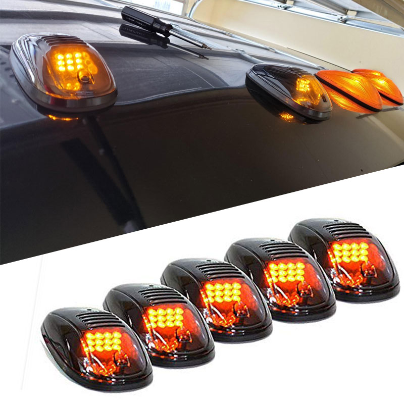 "CHEVROLET 5.5/"" AMBER YELLOW FOG LIGHTS UNIVERSAL CAR TRUCK SUV"