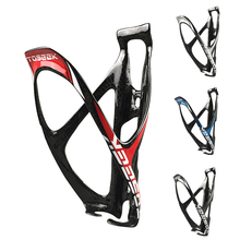 цена на 1pcs Full Carbon Fiber Water Bottle Cage for MTB/Road Bicycle   Bottle Holder Bicycle Accessories