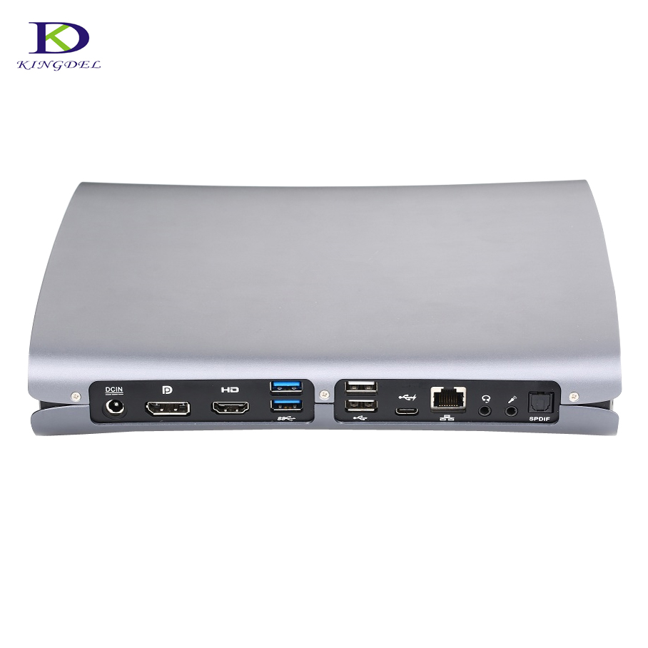 Best Gaming Computer Mini PC Intel Quad Core <font><b>i7</b></font> <font><b>6700HQ</b></font> i5 6300HQ GTX 960M GDDR5 16GB Ram HDMI+DP+Type C S/PDIF Desktop HTPC image