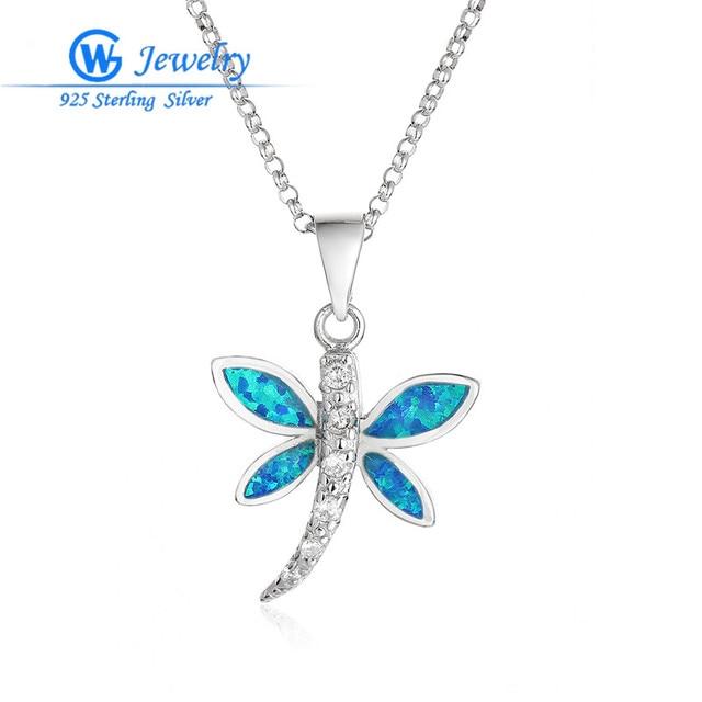 Blue Opal Pendants for Women Jewelry Making Assessories Rhinestone Necklaces Pingentes Bijoux Charm GW Fine Jewelry FP343H80
