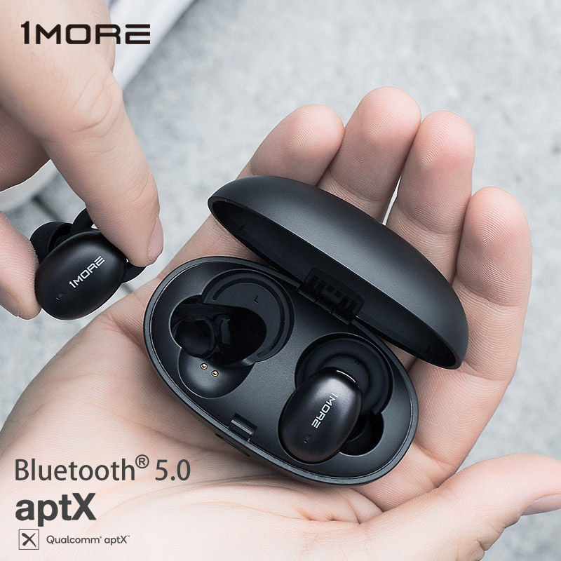 1More E1026BT Stylish True Wireless TWS Earphones Bluetooth 5.0 In-Ear E1026BT-I Bean Headset Support aptX ACC with MIC Скульптура