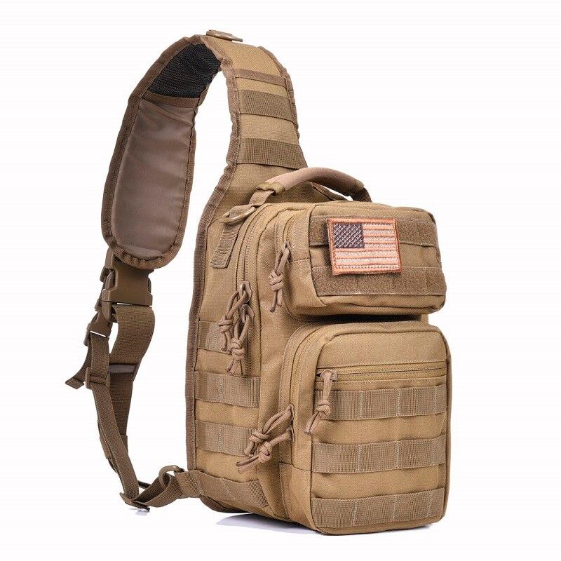 REEBOW tactique Rover sac à bandoulière sac à dos militaire sac à dos Molle gamme d'assaut sac de transport quotidien couche-culotte sac de jour petit