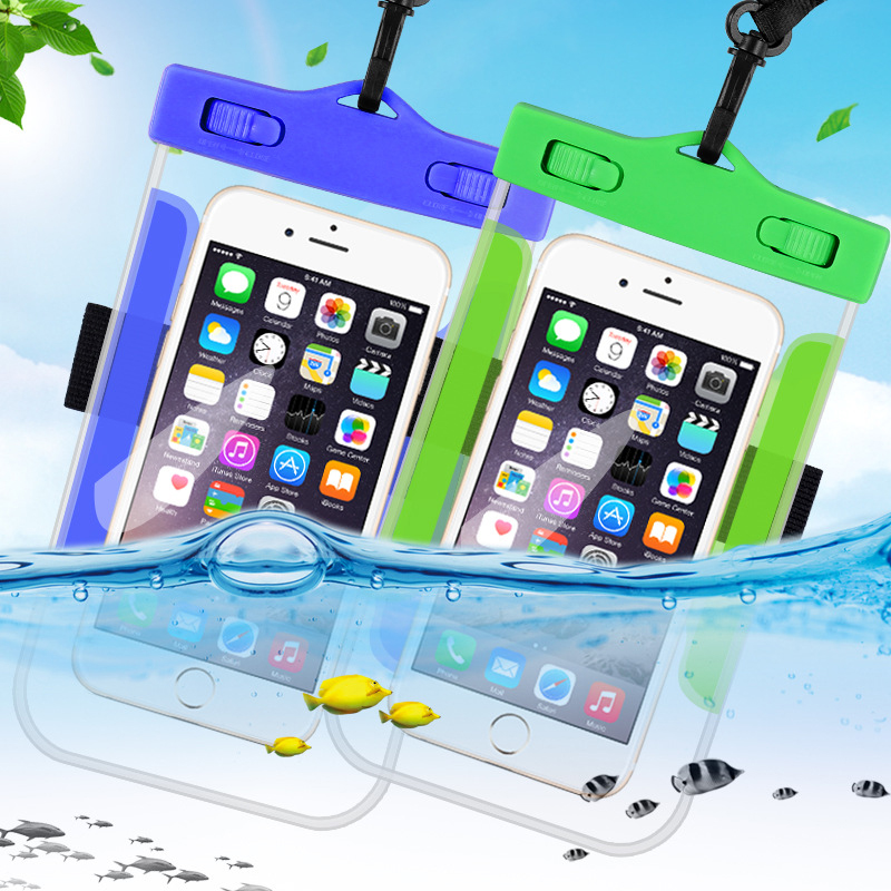 Universal Waterproof Phone Bag Case Transparent Pouch Beach Dry Mobile