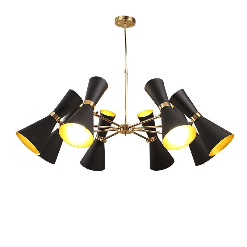 Post modern norbic dinning room aluminum pendant light fixture home deco DIY height adjustable pendant lamp E27