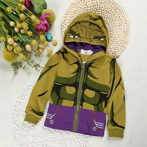 WT3009  Yellow green Toddler boy coats 5c64d2bce525b