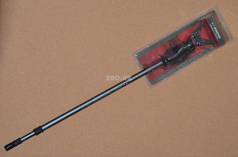 Pistola de tiro de caza monopie estante antideslizante de La manija De Aluminio