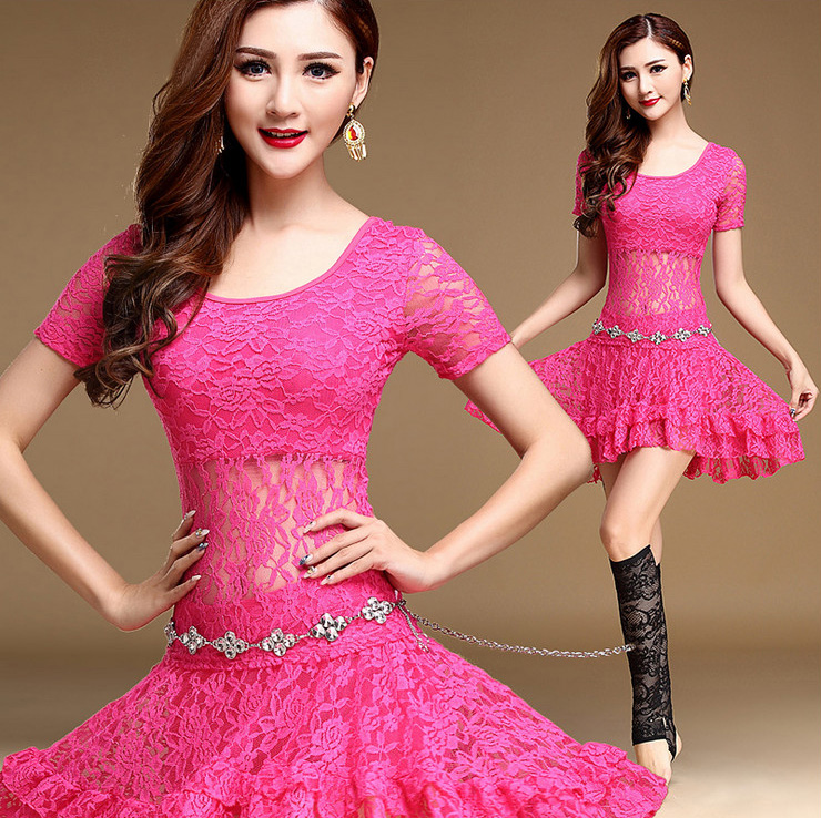 e03f5e74ba57 Sexy Lace Oriental Belly Dance Bellydance Costumes Set Shirt Top ...