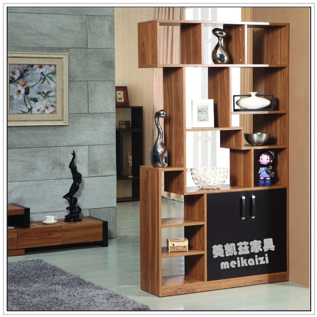 Simple Modern Low Cut Double Sided Cabinet Ikea Living Room Off The Entrance Bar Office