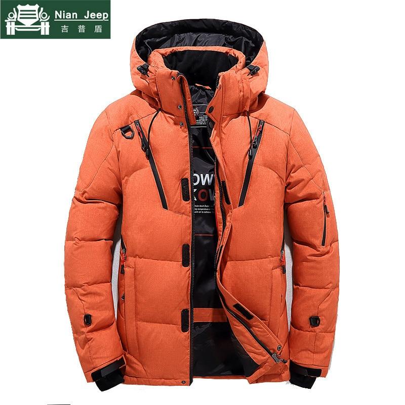 Brand 90% White Duck Thick Down Jacket High Quality Winter Parka Men Casual Outwear Windbreaker Warm Down Jacket Size M-3XL