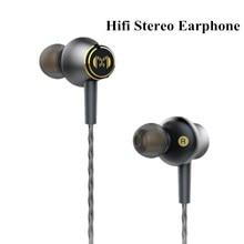 CM2 Metal HI FI Earphone Tuning Headset Stereo Music Audio Earbud PC MP3 Phone Earphones Microphone