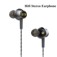 CM2 Metal HI FI Earphone Tuning Headset Stereo Music Audio Earbud PC MP3 Phone Earphones Microphone for Xiaomi iPhone 3.5mm Jack