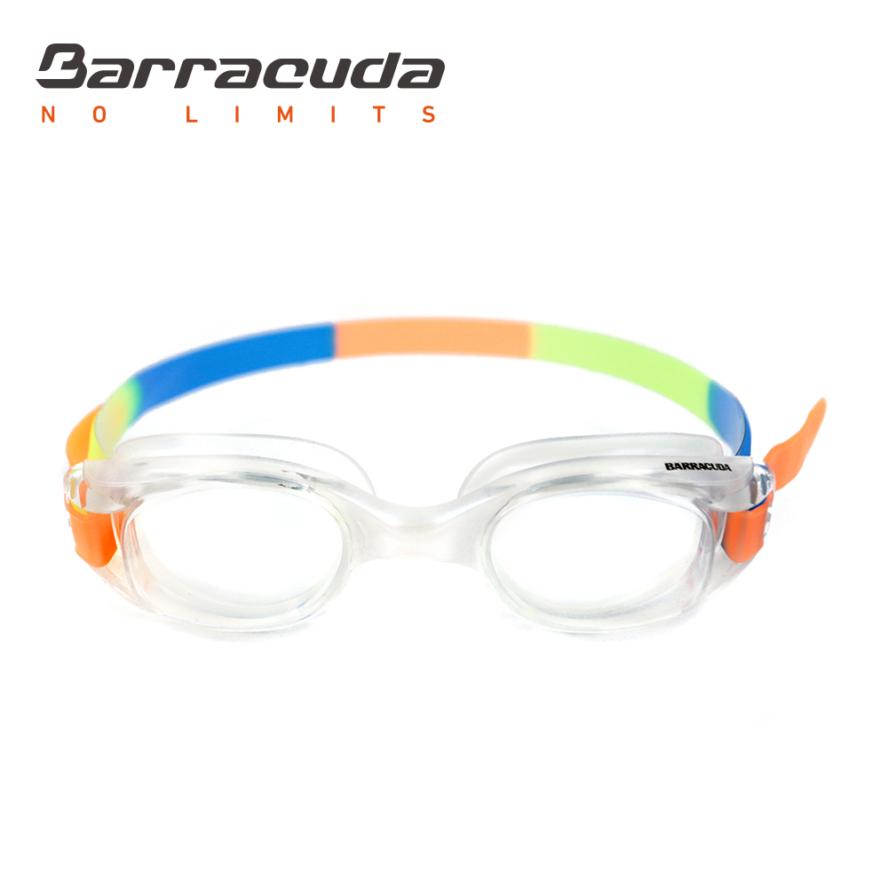 Barracuda Junior Swim Goggle FRENZY Anti-fog UV Protection Shatter-resistance Easy adjusting for Children Teens #12755