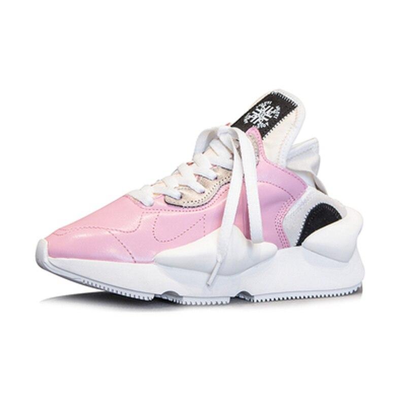 rose rouge Chaussures Amoureux Color Sneakers Noir Saisons Simples other Quatre blanc jaune Tendance Leather2018 Espadrille forme Femmes Véritable Plate Décontractées uOTikZXP
