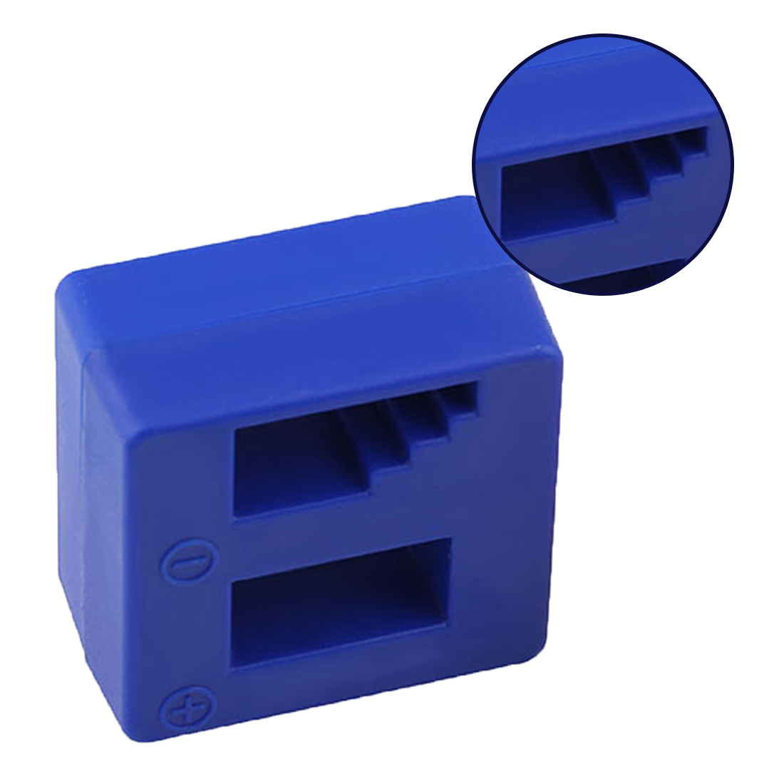 1PC Blue Magnetizer Demagnetizer Tool Screwdriver Bench Tips Bits Gadget Handy Magnetized Driver Quick Magnetic Degaussing