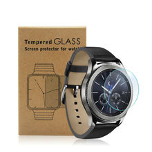 Tempered Glass Screen Protector for Samsung Gear S3 Classic or Frontier 9H 2.5D Clear Smart Watch Glass Film