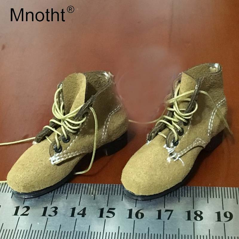 1/6 Soldier Shoes Model WWII Germany Army Tenth Armored Division boots Model Toy For 12in Action Figure Collections mnotht m3