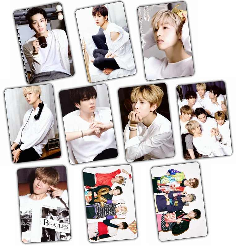 Kpop 2018 New Album GOT7 2016 FLY fly tag set crystal set 10k-pop has 7   Poster  LOMO gift Photographic Poster