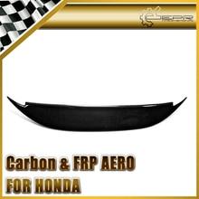 Эпр стайлинга автомобилей для honda s2000 углеродного волокна bys стиль ducktail спойлер задний багажник крыло