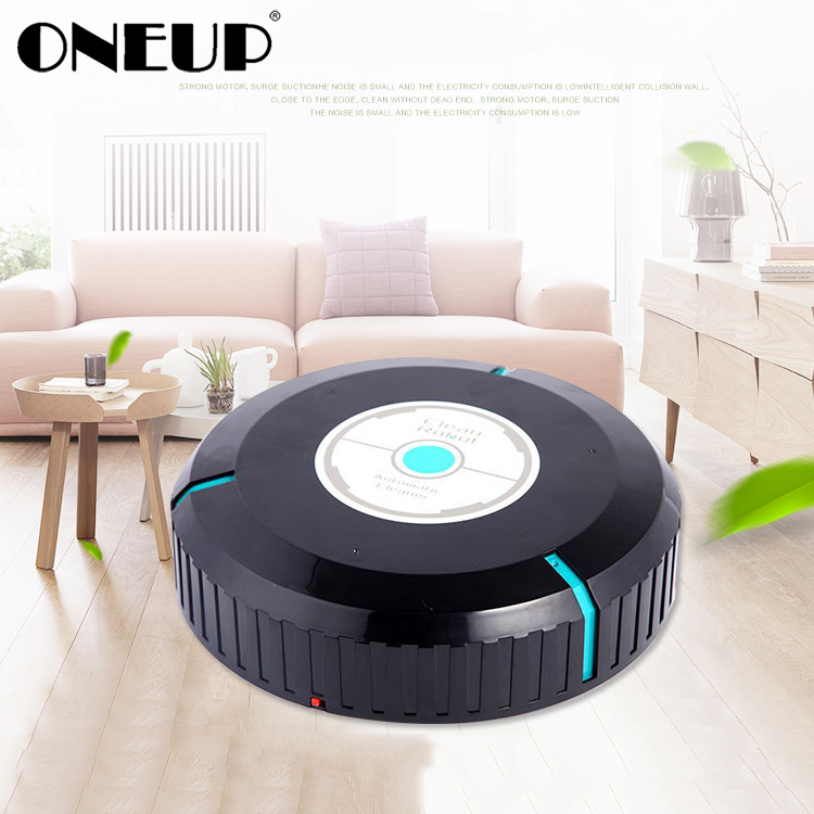 ONEUP Home Auto Cleaner Robot Microfiber Smart Robotic Automatic Mop Sweeping Floor Corners Dust Cleaner Sweeper Vacuum Cleaner(China)
