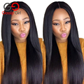 Unprocessed 7A Indian Virgin Hair Straight Full Lace Wig Cheap Full Lace Human Hair Wigs For Black Women Indian Front Lace Wigs