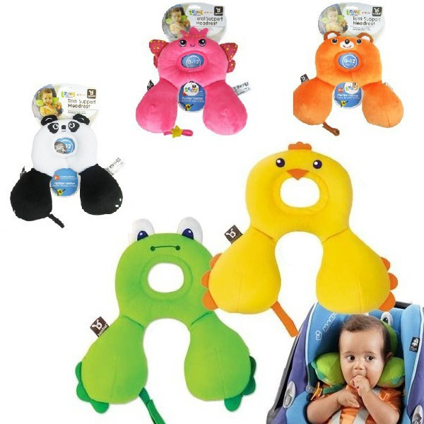 Newborn Baby Infant Anti Roll Neck Pillow Prevent Flat Head