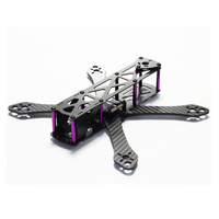 Tarot REPTILE Martian 4mm Arm Carbon Fiber Racing Quadcopter 190MM 230MM 255MM Frame With 5V 12V