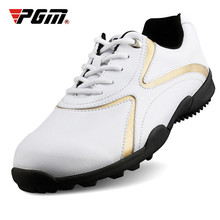 цена на Authentic PGM Golf Shoes Men Waterproof Anti-Skid High Quality Male Sports Shoes Sneakers Breathable Shoes Ultralight Golf Shoe
