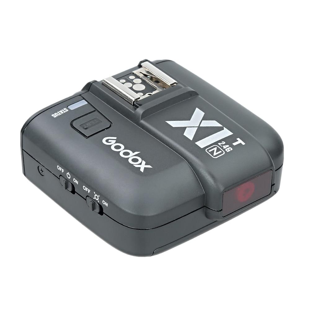 Uusim Godox X1N-T TTL 2.4 G traadita saatja komplekt Nikon D800 D3X - Kaamera ja foto - Foto 4