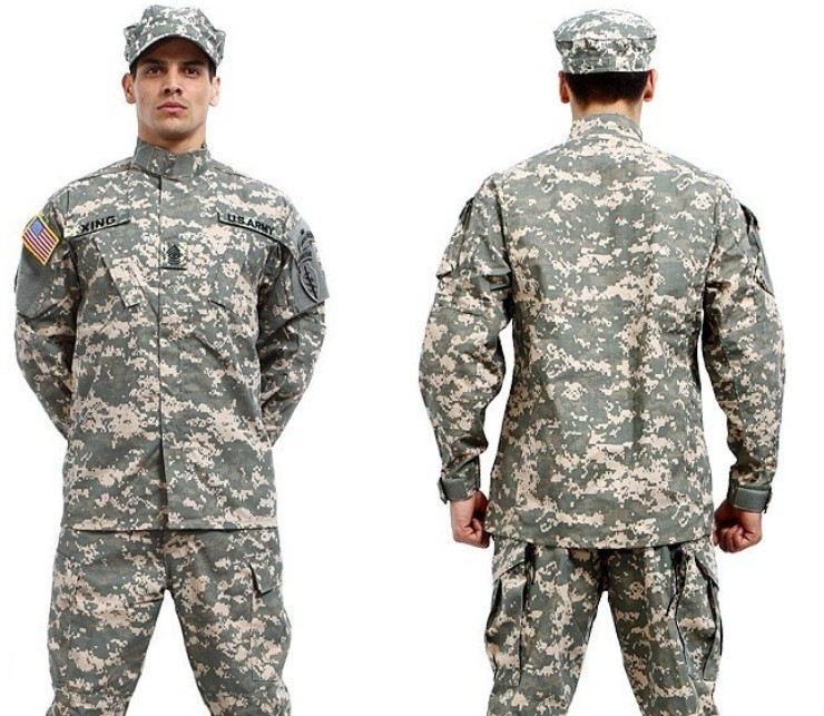 army military tactical cargo pants uniform waterproof camouflage