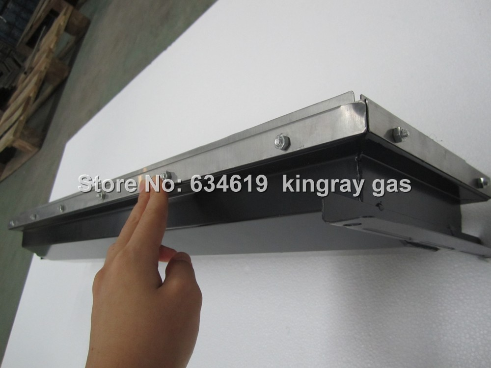 high quality big-size ceramic plates gas infrared burner, stainless steel LPG&NG gas burner for bbq and oven manufacturing