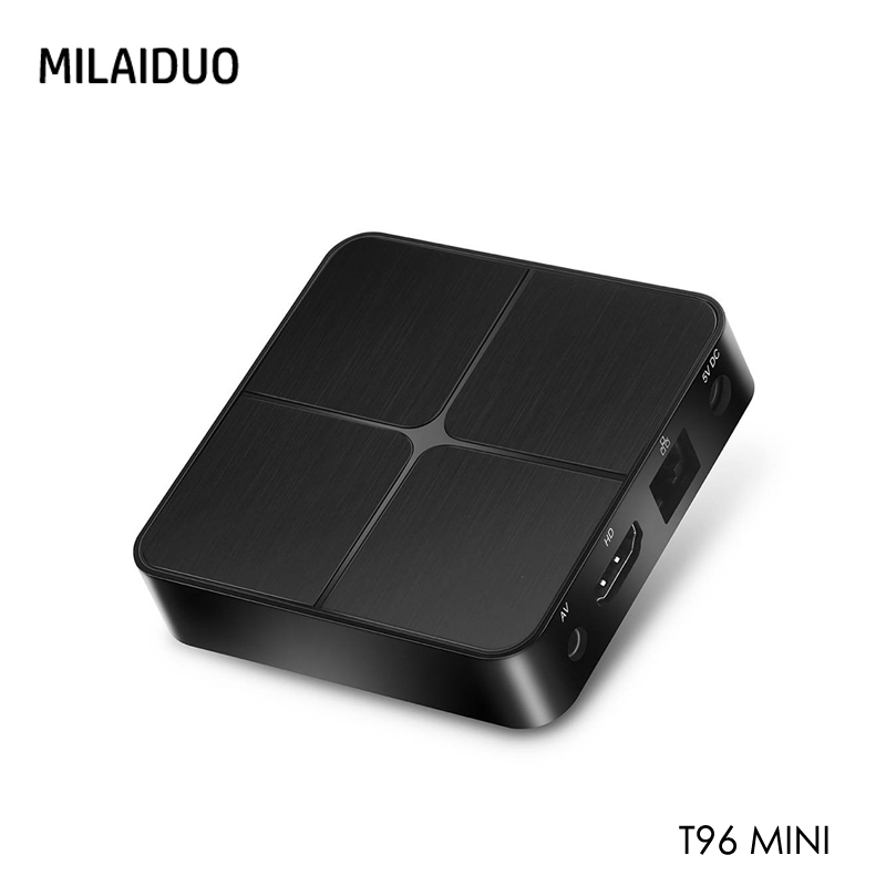 T96 Mini Android 7.1 TV BOX 2GB RAM 16GB ROM RK3229 Quad Core 2.4G WiFi Media Player H.265 4K HD Smart Set Top Box Vs X96 MiniT96 Mini Android 7.1 TV BOX 2GB RAM 16GB ROM RK3229 Quad Core 2.4G WiFi Media Player H.265 4K HD Smart Set Top Box Vs X96 Mini