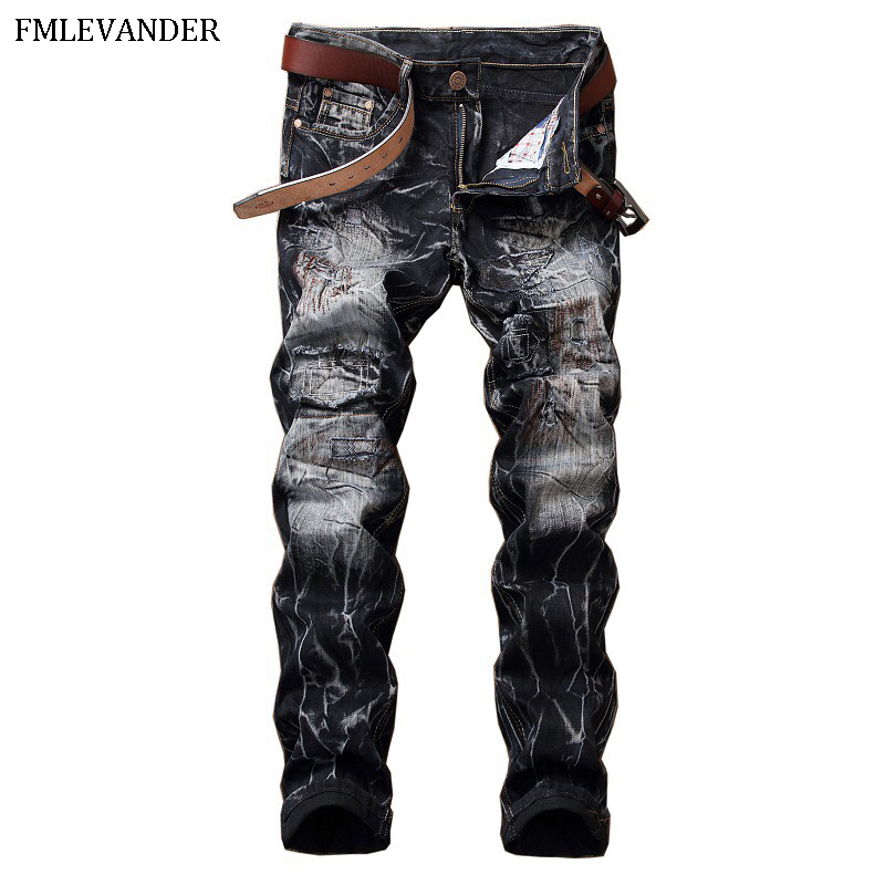 New 2018 Cotton Thin Straight Casual Skinny   Jeans   Men   Jean   pantalon