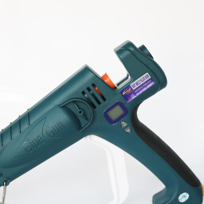 Pistola per colla professionale ad alta potenza con display digitale - Utensili elettrici - Fotografia 2