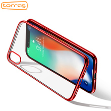 For Iphone 8 Case ,TORRAS TPU Phone Case for iPhone 7 Transparent Protective Case Cover Thin Soft Cover Case for iPhone 8 Cover