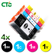 4pcs Compatible Ink Cartridge for hp 934 935 hp934 hp935 HP 934 for hp Officejet pro 6230 6830 printer with chip
