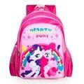 Nueva moda mochilas para adolescentes chicas de dibujos animados my little pony mochila mochilas escolares los niños chico lindo caballo pony bolsa de niño mochila