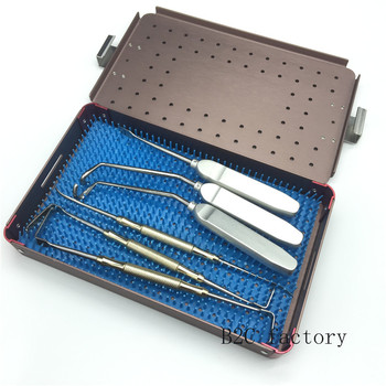 New 1set Nose Plastic Surgery Instrument Set  Nasal Bone Nose Bone Chisel