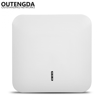 1200Mbps 802.11ac High Power 2.4G&5.8G Ceiling Wireless Access Point WiFi Extender Active PoE Ceiling-mounted Wireless AP Router цена 2017