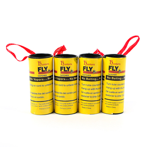 Image 4 - 4 Rolls Fly Glue Paper Pest Control Housefly Killer Insect Bug Catcher Trap Ribbon Strip Sticky Fies Summer Tools