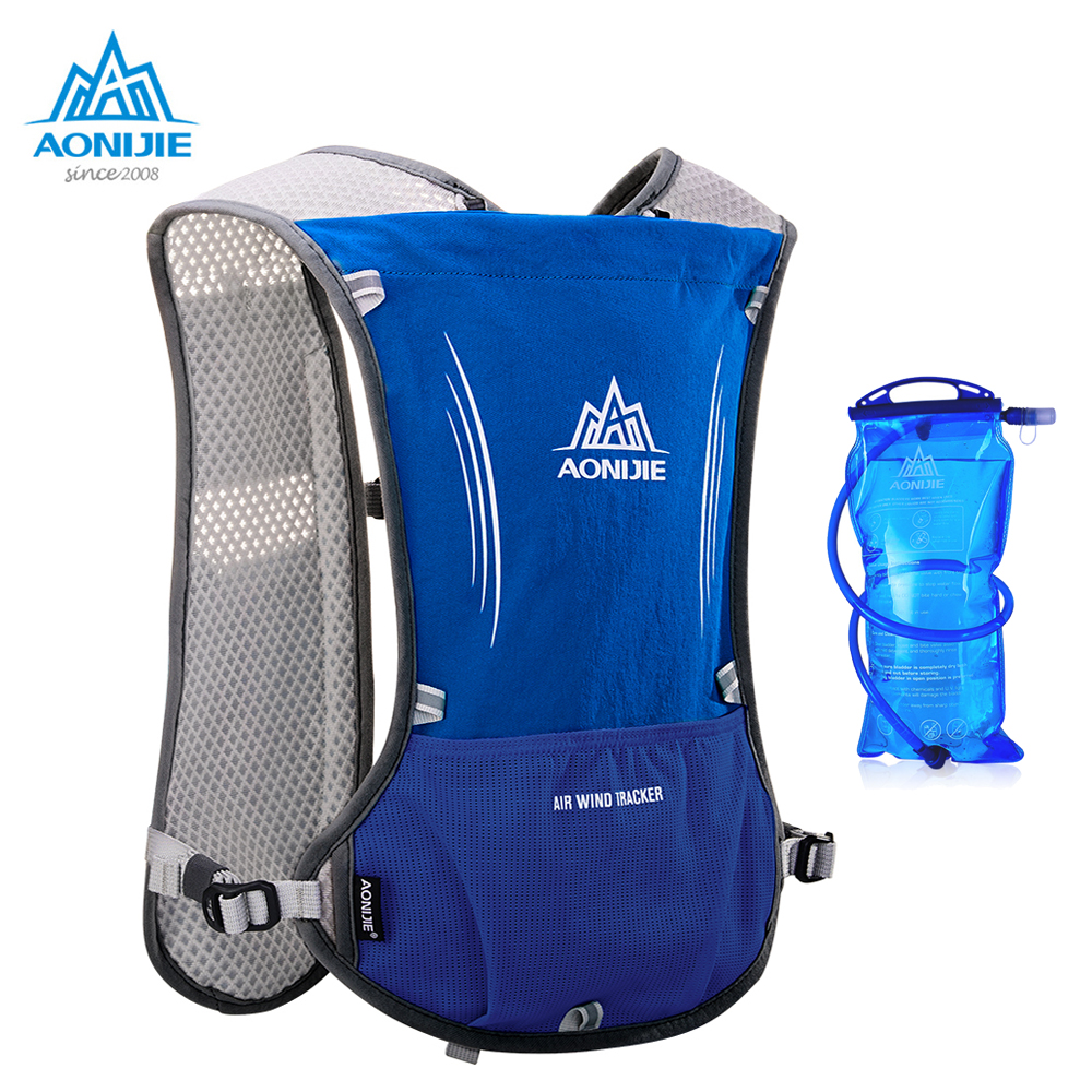 все цены на AONIJIE New Outdoor Running Water Hydration Backpack Hiking Cycling Lightweight Sport Bag with Bottle Holder for 1.5L Water Bag