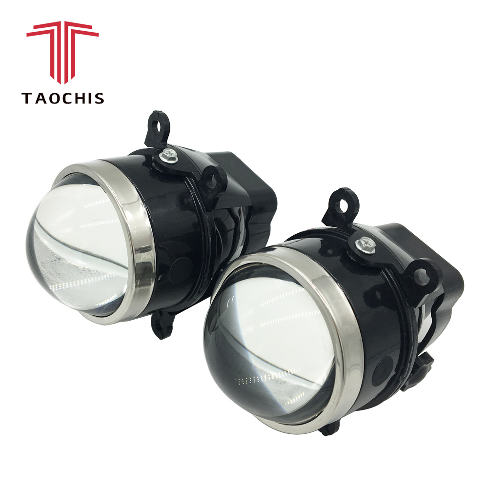 TAOCHIS Car-styling 3.0 fog lamp Bi-xenon projector lens fine tuning for SUBARU CITROEN DACIA FIAT FORD MAZDA MITSUBISHI NISSAN