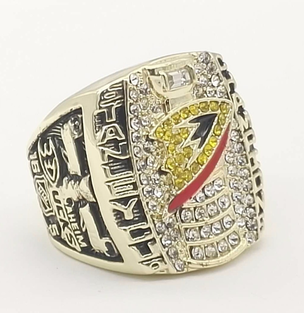 Factory Direct Sale 2007 Ice Hockey Anaheim Ducks Custom Sports Replica  World Championship Rings(china