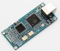 ATSAM3U1C XC2C64A Combo384 USB To I2S Digital Interface Refer To Amanero USB IIS Support DSD512 32bit